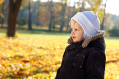 Portrait cute child Stock Photo