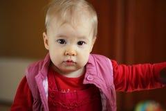 Portrait of cute child Stock Photo