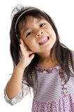 Portrait of a cute girl Royalty Free Stock Images