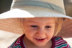 Portrait of  cute girl Royalty Free Stock Photography