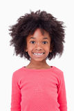 Portrait of a cute girl smiling Royalty Free Stock Photography