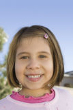 Portrait Of Cute Girl Smiling Royalty Free Stock Photography