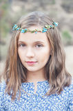 Portrait of a cute girl Royalty Free Stock Photos