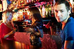 Guy at party Royalty Free Stock Images