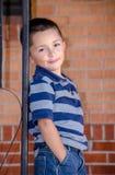 Portrait of a cute hispanic boy Royalty Free Stock Photography