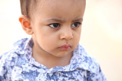 Portrait of Cute Indian little boy Stock Photography