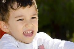 Portrait cute latino boy royalty free stock image