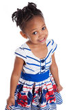 Portrait of a cute little african american girl Stock Photography
