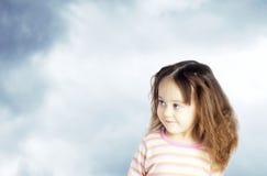 Portrait of cute little baby Stock Photo