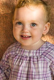 Portrait of cute little baby girl Stock Photography
