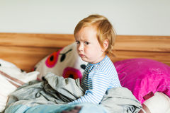 Portrait of a cute little boy Royalty Free Stock Photography