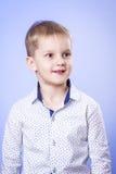 Portrait of cute little boy Stock Photo