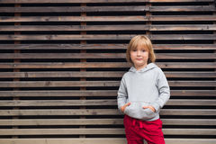 Portrait of a cute little boy Royalty Free Stock Photo