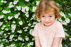 Portrait of a cute little boy Royalty Free Stock Images