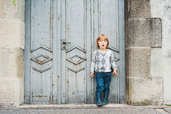 Portrait of a cute little boy Royalty Free Stock Image