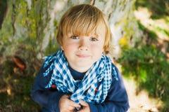 Portrait of a cute little boy Stock Photography