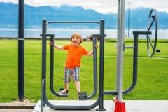 Portrait of a cute little boy Royalty Free Stock Image