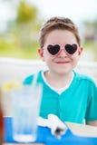 Portrait of cute little boy Stock Image