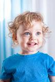 Portrait of a cute little child Royalty Free Stock Image