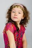 Portrait of cute little girl Stock Image