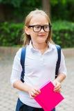 Portrait of a cute little girl Stock Image