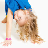 Portrait of a cute little girl. Royalty Free Stock Photo