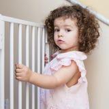 Portrait of cute little girl Stock Photos