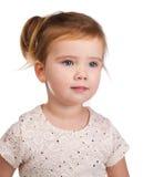 Portrait of cute little girl  looking away Stock Image