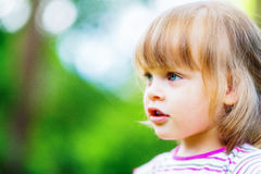 Portrait of cute little girl Royalty Free Stock Photography