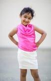 Portrait of a Cute Little Girl. Outdoor Portrait of a Cute Little Girl Stock Images