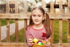 Portrait of a cute little girl Stock Photo