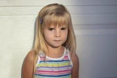 Portrait of cute little Girl outdoor. Portrait of cute little Girl outdoor 3-4 years old Stock Images