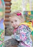 Portrait cute little girl Royalty Free Stock Image