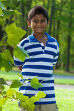 Portrait of a cute little indian boy Stock Photography