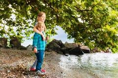Portrait of cute little kids Stock Images