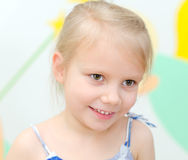 Little smiling girl Royalty Free Stock Photos
