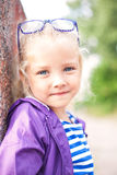 Portrait of a cute little smiling girl Royalty Free Stock Photo