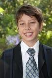 A portrait of cute schoolboy Royalty Free Stock Photo
