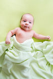 Portrait of cute small baby boy Royalty Free Stock Images