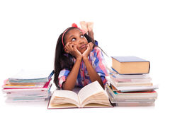 Portrait of cute student Royalty Free Stock Photos