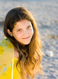 Portrait of cute teen girl Royalty Free Stock Photo