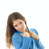 Portrait of cute teen girl Royalty Free Stock Photography