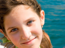 Portrait of cute teen girl Royalty Free Stock Images