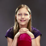 Portrait of a cute teen girl Royalty Free Stock Photo