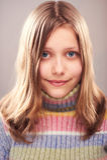 Portrait of a cute teen girl. Studio shot Royalty Free Stock Photos