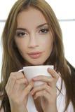 Portrait of cute teenage girl Royalty Free Stock Photos