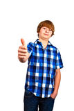 Portrait of cute teenager Royalty Free Stock Photography
