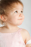 Portrait of a cute toddler Stock Image
