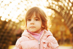 Portrait of cute toddler Royalty Free Stock Photos