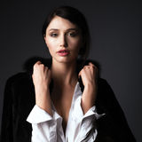 Portrait of cute woman Royalty Free Stock Image